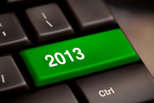 Digital Marketing Resolutions 2013.