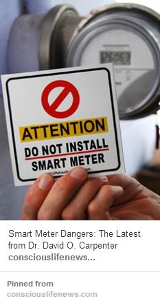Stop Smart Meters (Pinterest)