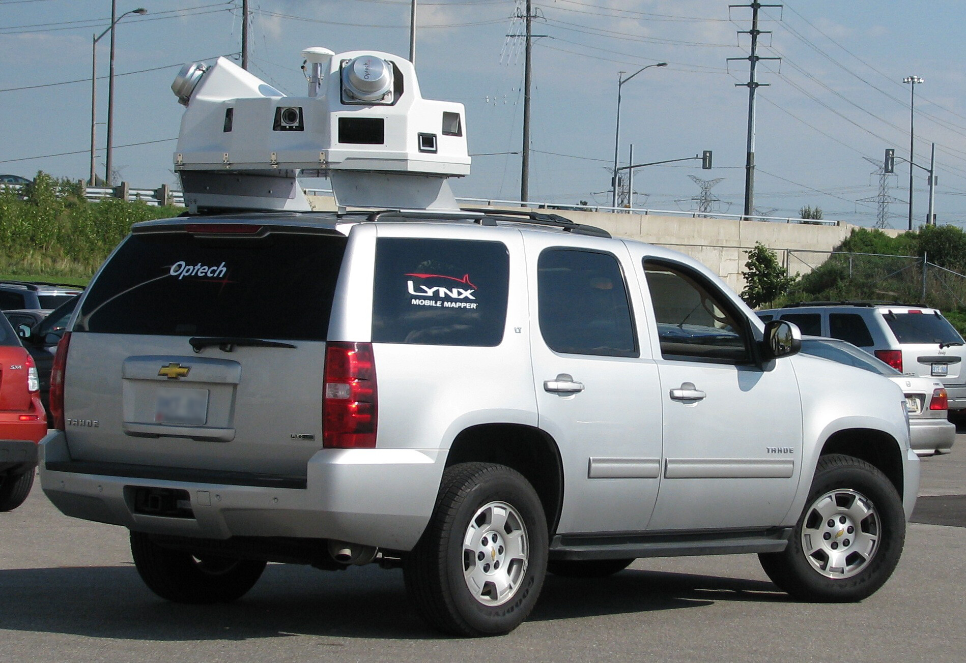 LIDAR on car