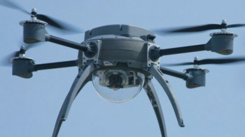 UAV with LIDAR