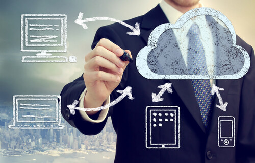 cloud computing data management solution
