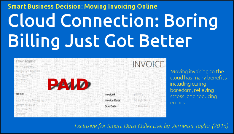 Cloud-based online invoicing solutions - boring billing just got better