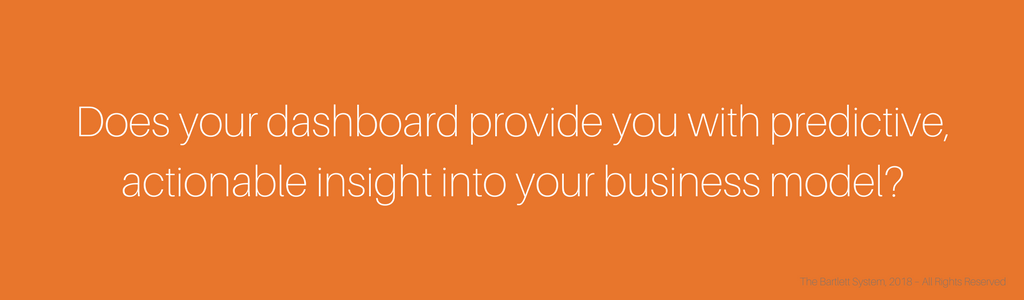 Does your CEO dashboard provide you with predictive, actionable insights into your business model?