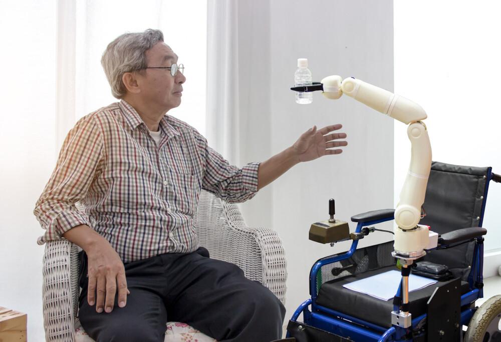 AI in elderly care