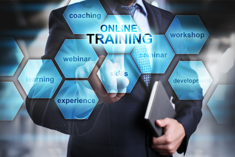 online business training and AI